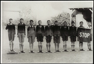 Croydon Park Public School - road safety team | by NSW State Archives and Records