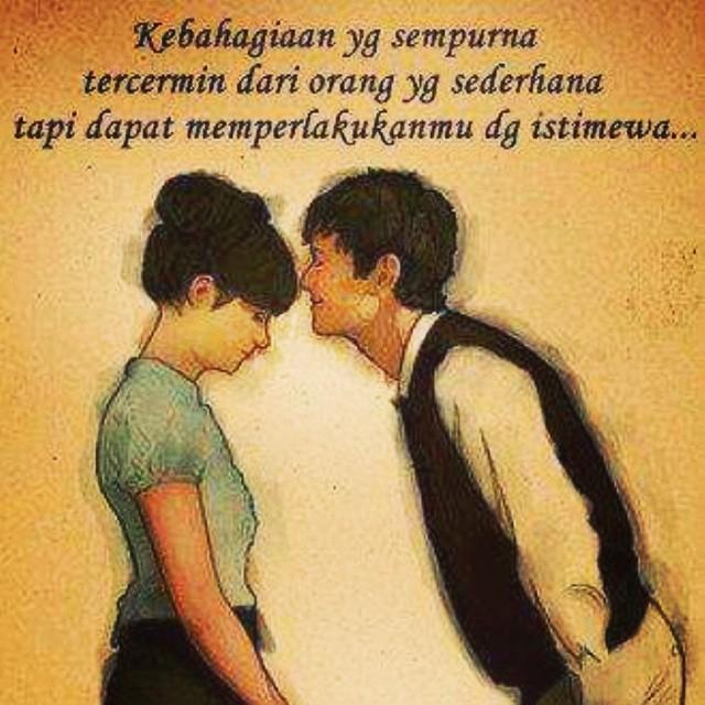 bahagia itu sederhana couple love quote yonathan kharisma