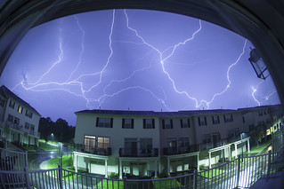 Lightning in Hillsborough, New Jersey July 27, 2014 | by Anthony Quintano