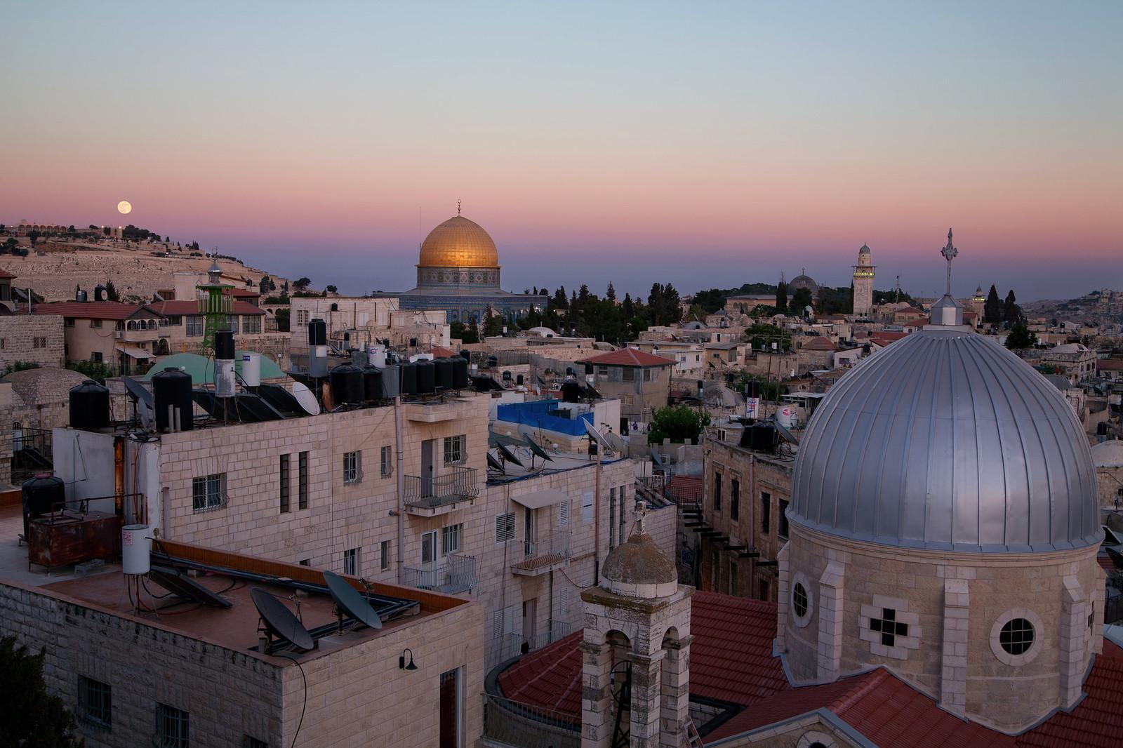 Jerusalem_Old City Panorama_3_Noam Chen_IMOT