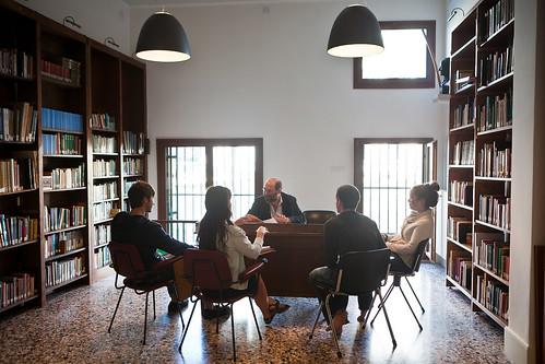 Classroom at Casa Artom House, Venice, Italy