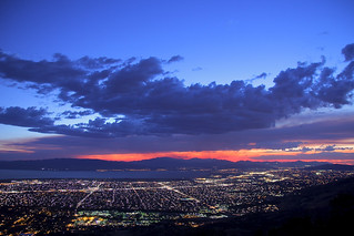 Utah Valley Sunset Seen from Squaw Peak | by wienotfilms