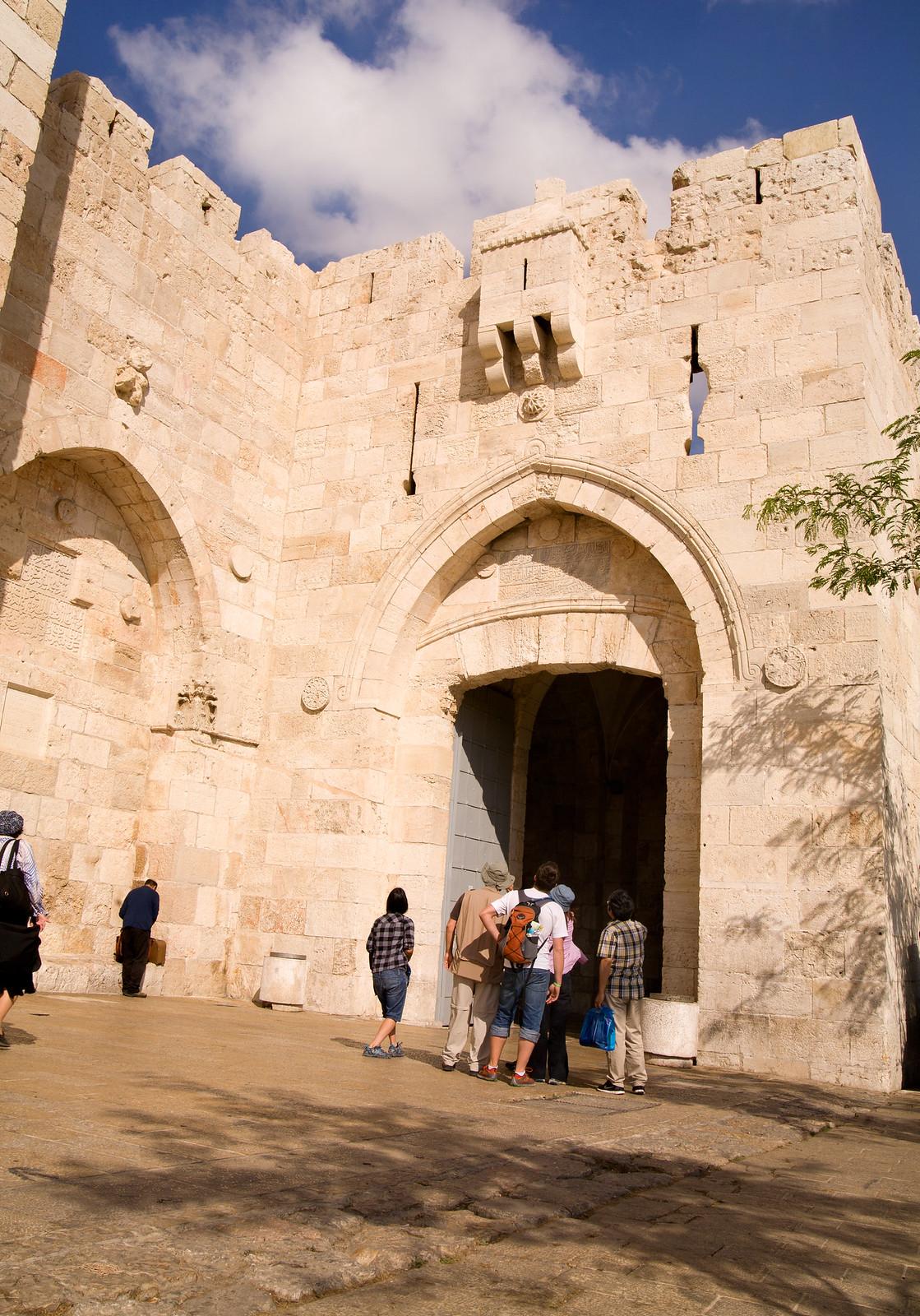 Jerusalem_Jaffa Gate_ Sha'ar Yaffo_Noam Chen_IMOT