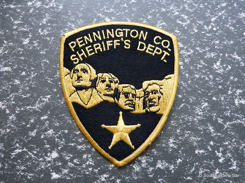 Pennington County Police Patch | by SouthEastern Star ★