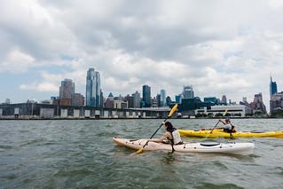Kayaking across the Hudson River with Manhattan Kayak Company | by Dan Nguyen @ New York City