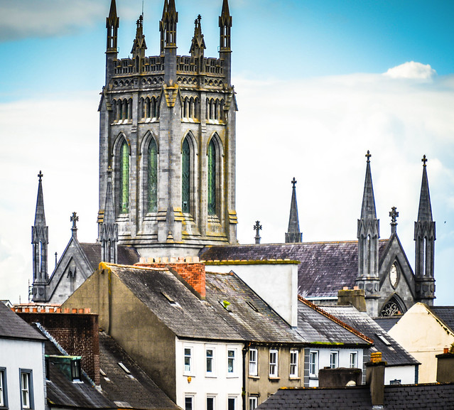 St Mary's Cathedral Tower - Kilkenny Ireland