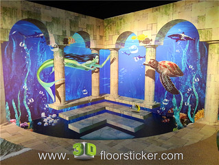 3d exhibition sticker (217) | by 3D floor sticker - YeJun