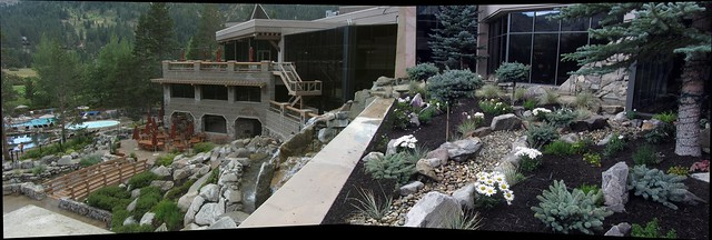 IMG_3798_2 140729 Squaw Creek resort waterfall garden ICE rm stitch99