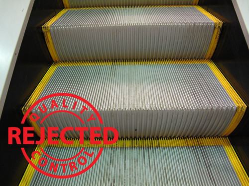 The result: clean escalators   by Step by Step Stakeholders