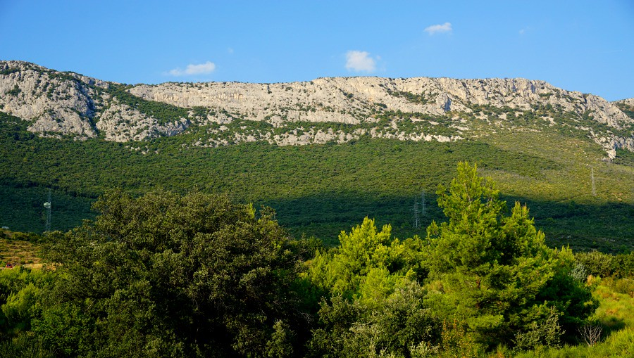Split Croatia Mountain Ridge
