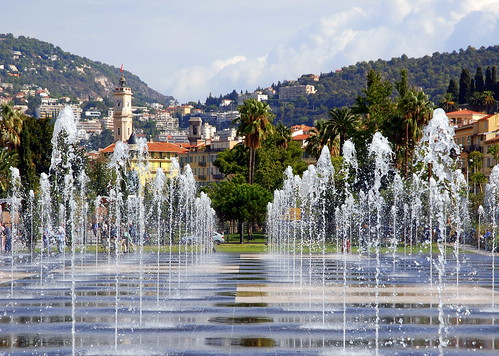 Water feature, Espace Jacques Médecin, Nice. | by Roly-sisaphus