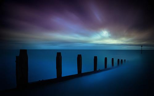 ©nickudy nickerzzzzz canoneos70d efs1585mmf3556isusm devon water le longexposure sky seascape sea sunset ocean groynes teignmouth