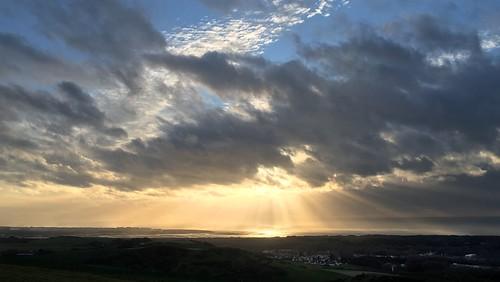 france photoscapex letouquet landscape sea channel manche camiers sunset clouds skyscape sky
