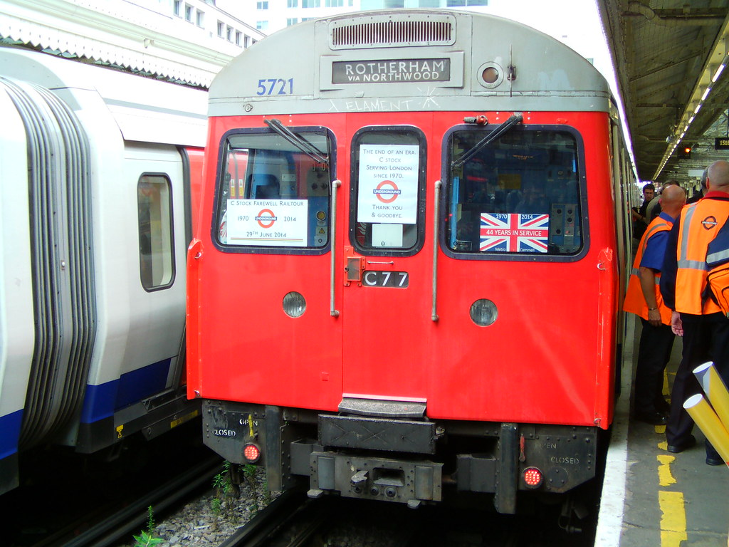 London Underground C69/C77 Stock 5721 Train 770 'C Stock F