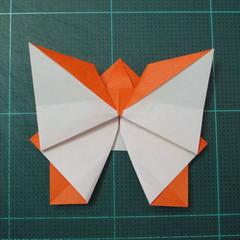 วิธีพับกระดาษเป็นที่คั่นหนังสือรูปผีเสื้อ (Origami Butterfly Bookmark) 027