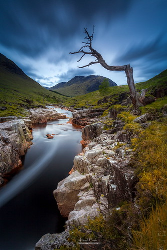 Glen Etive, in the West Highlands of Scotland [1067 x 1600] by Fernando Vicente