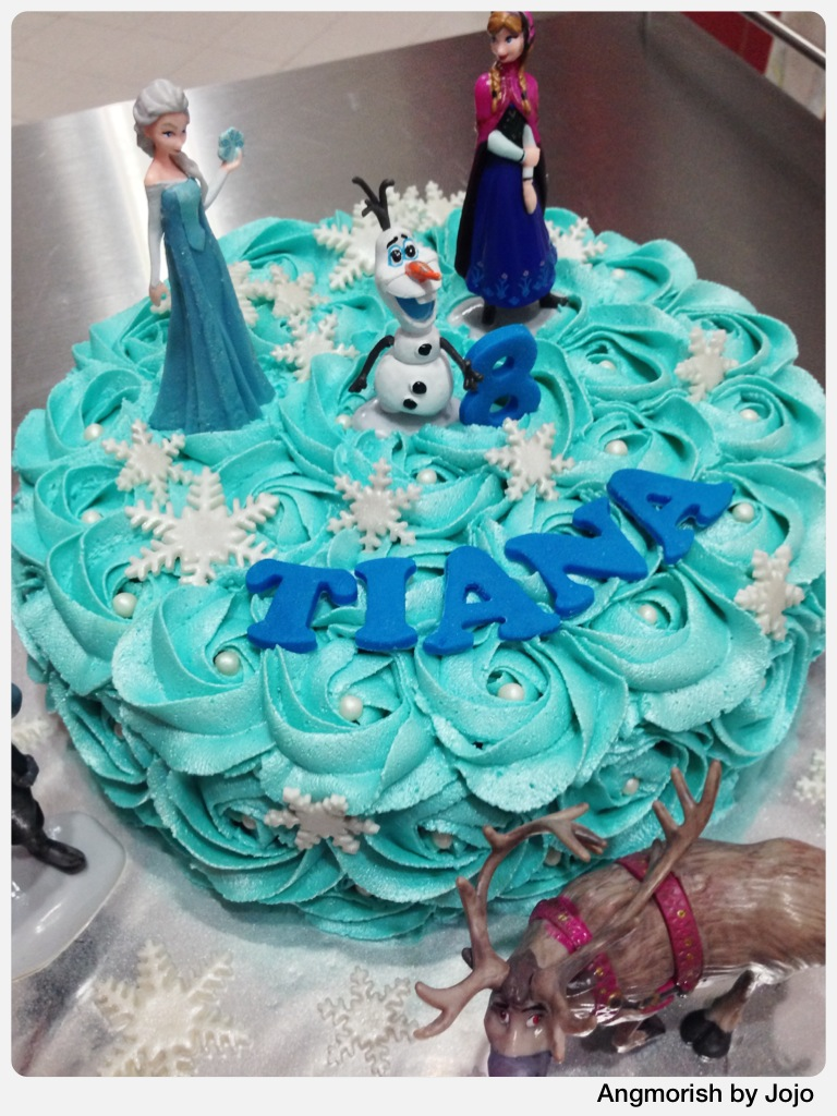 Outstanding Disney Frozen Birthday Cake Tiana Disney Disneyfrozen Flickr Funny Birthday Cards Online Elaedamsfinfo