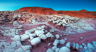 Sandstone formations in the expansion lands- Petrified Forest National Park | by Andrew V Kearns