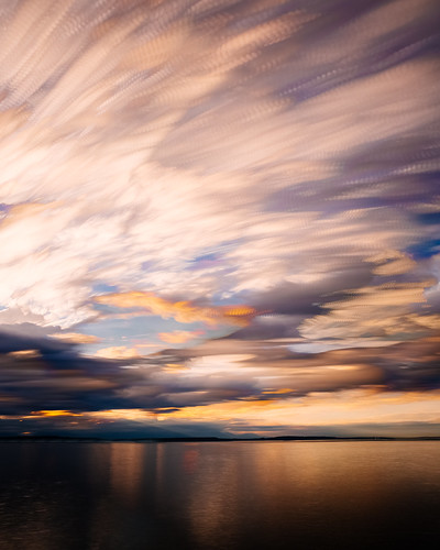 sunset longexposure pacificnorthwest clouds motion seattle water reflection canoneos5dmarkiii bwnd1000x cloudy timestack johnwestrock canonef2470mmf28lusm washington