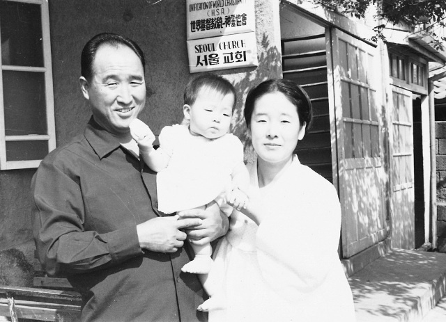 Reverendul Moon & Familia