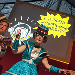 The McIntyre and Reeve Cakes in Space extravaganza |