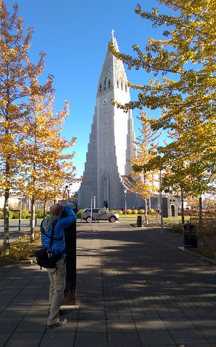 Photographer Steve at Hallgrímskirkja | by ActiveSteve