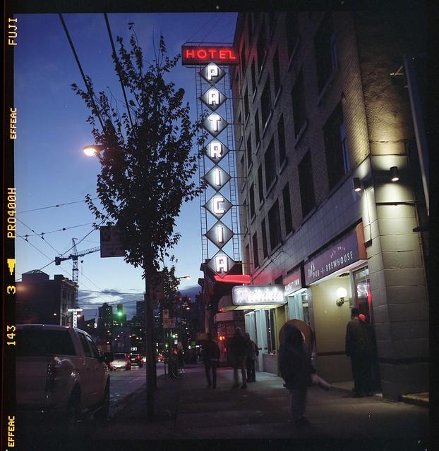 hotel patricia, vancouver bc