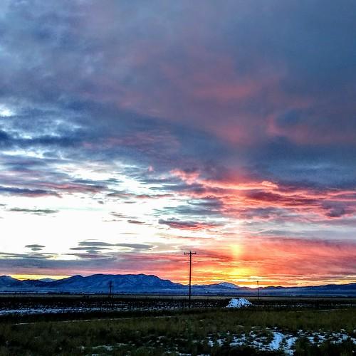 sunset desert utah eaglemountain utahcounty