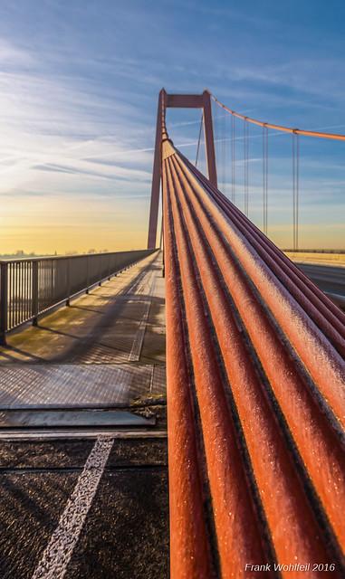 Rheinbrücke im Detail