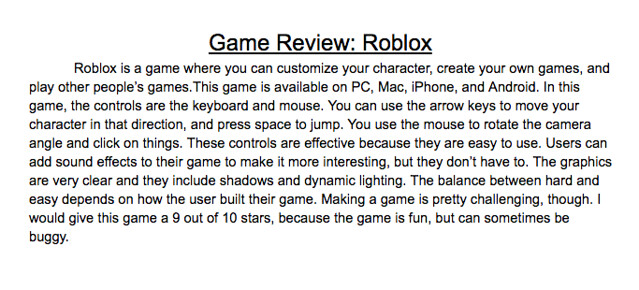 Video Game Review Roblox - Kevin Hodgson - Flickr