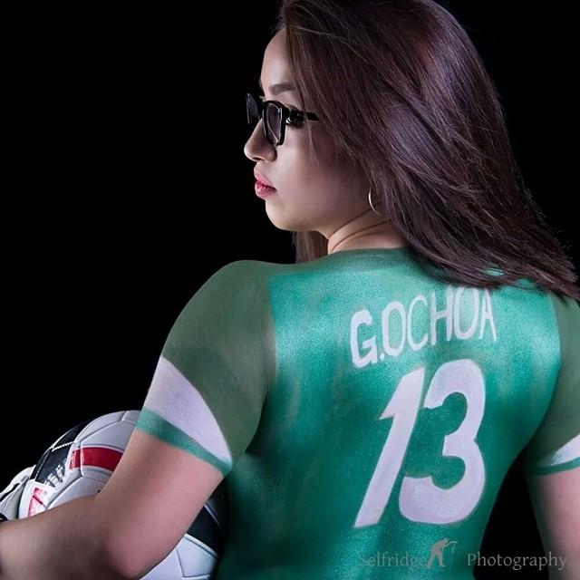 Mexico Ochoa Bodyart Bodypaint Worldcup Reptilesps Flickr