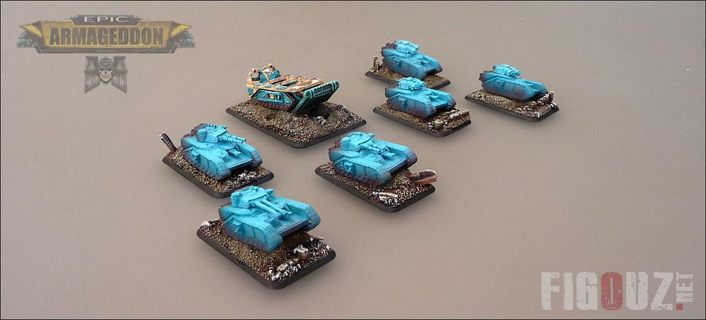 Macharius Tanks - Work In Progress - - Death Korps Of Krie
