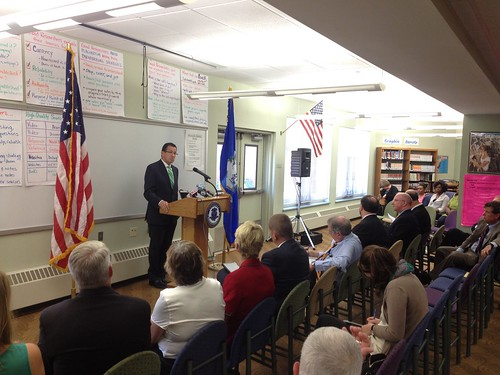 School Security Grant Announcement in Wethersfield | by Office of Governor Dan Malloy