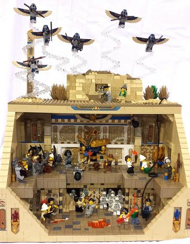 Pharaohs Labyrinth: Pharaoh's Tomb; Brickfair 2014