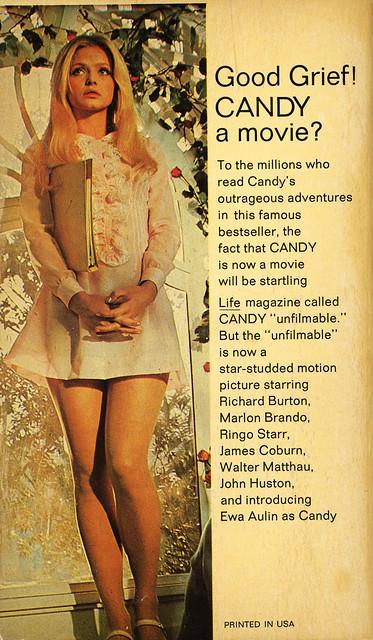 Putnam Books 1017 - Terry Southern & Mason Hoffenberg - Candy (back)