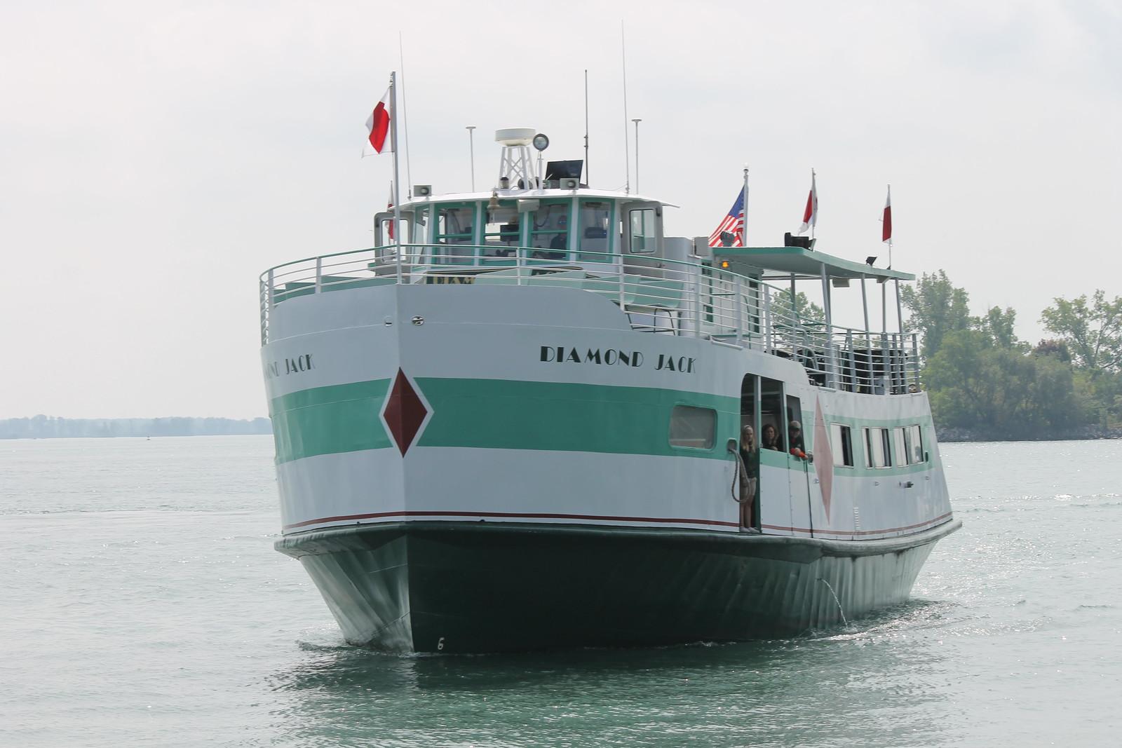 Diamond Jack (Tour Boat) - August 31, 2014