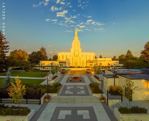 temple idaho mormon lds idahofallstemple jamesneeley