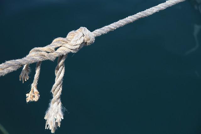 I'm a frayed knot [Explored]