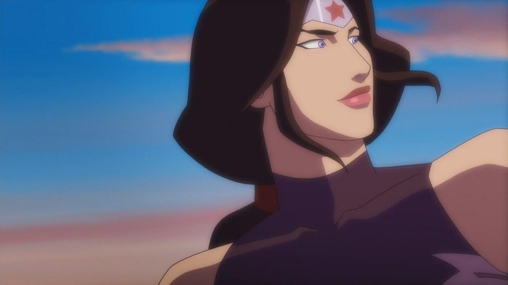 Wonder Woman Justice League Throne Of Atlantis