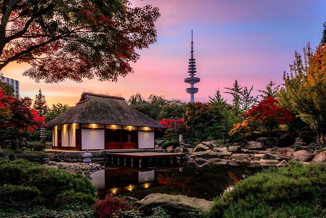 Teehaus im Japanischen Garten - Planten un Blomen