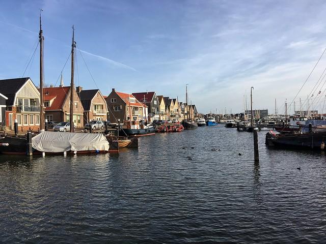 Hafen Urk Niederlande