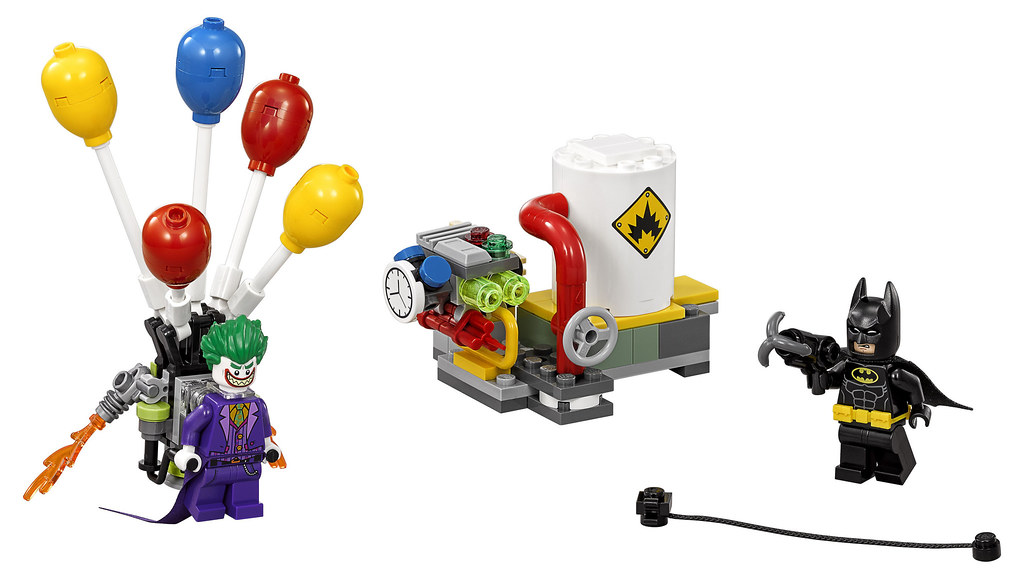 The Lego Batman Movie The Joker Balloon Escape 70900 Flickr