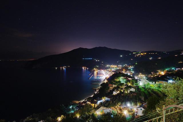 Moneglia di notte