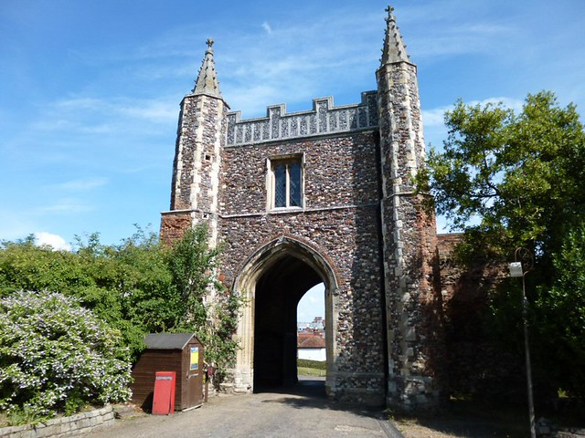 Rear of St. Johns Gatehouse