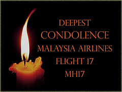 Condolence to Flight MH 17