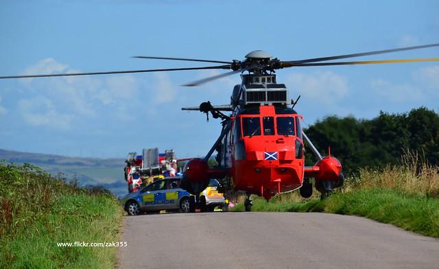 Sea King at Kingarth Plane Crash