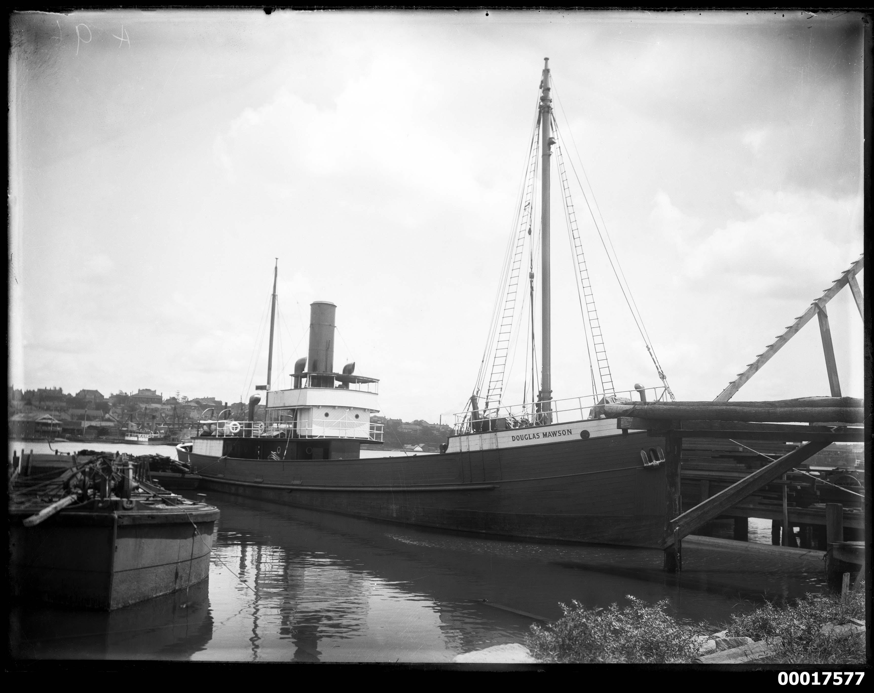 SS DOUGLAS MAWSON, 1914-1923