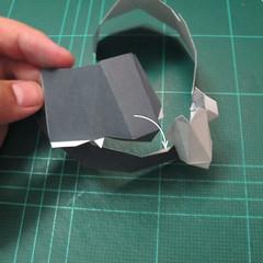 วิธีทำโมเดลกระดาษของเล่นคุกกี้รัน คุกกี้รสพ่อมด (Cookie Run Wizard Cookie Papercraft Model) 035