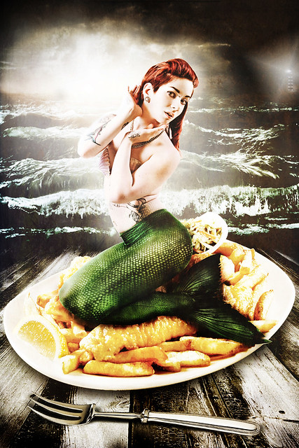 Dirty Fairy Dames: Fish & Chips