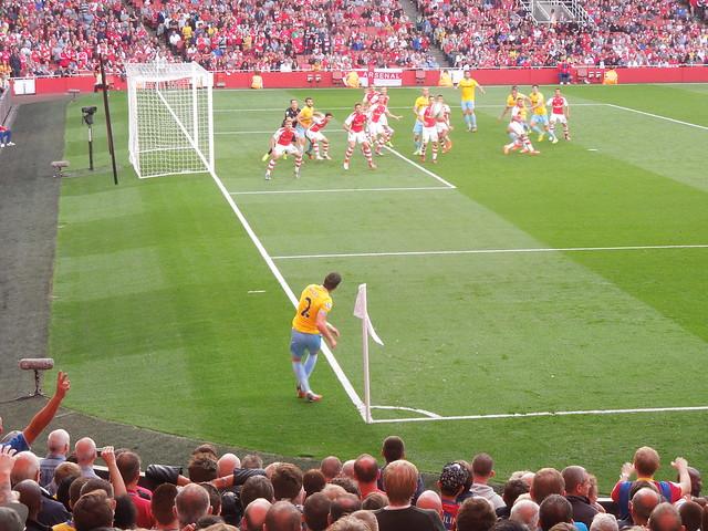 Arsenal v Palace (Aug 2014)